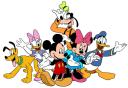 Disney : Mickey, Minnie & compagnie (2 thèmes)